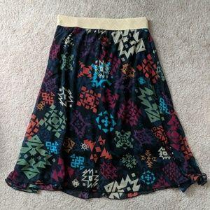 Never worn Lularoe  Lola skirt